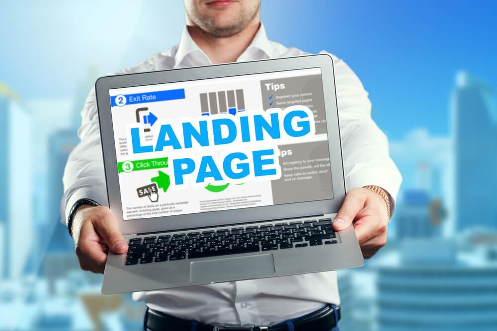landing page seo