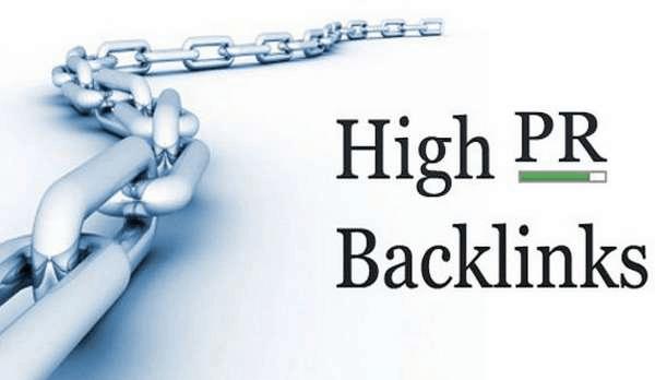 buy high pr backlinks