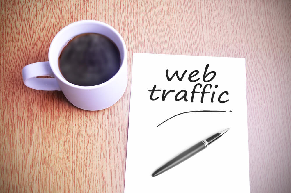 how to drive traffic to my website