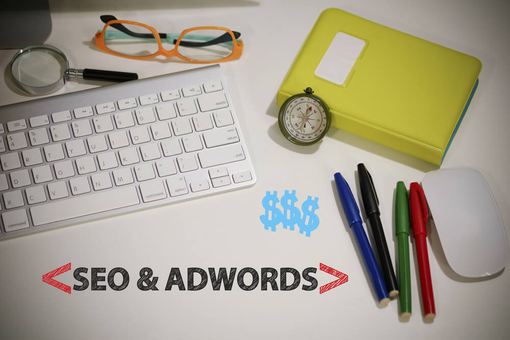 difference between seo and adwords