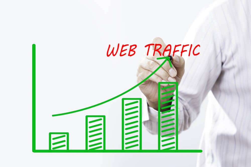 how to get web traffic