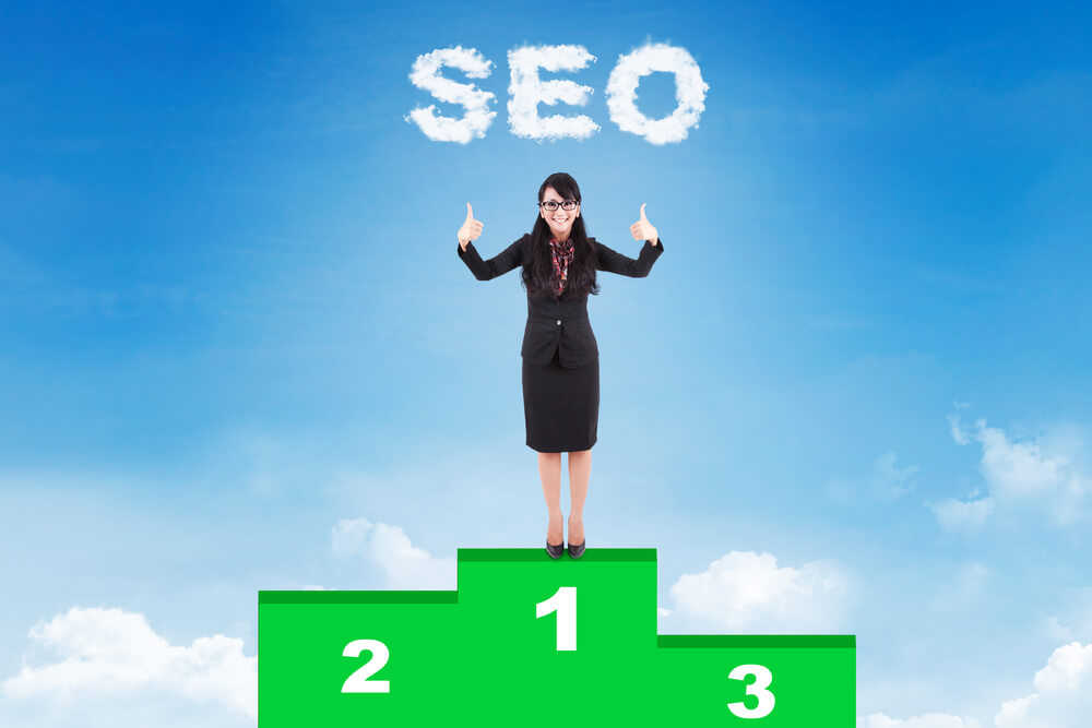 first page seo