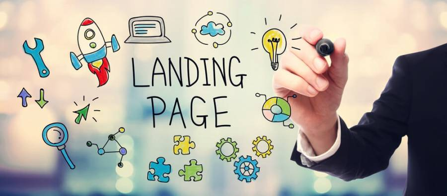 landing pages and seo