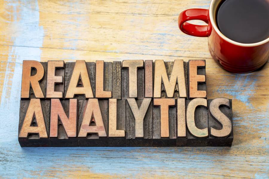 real time web analytics