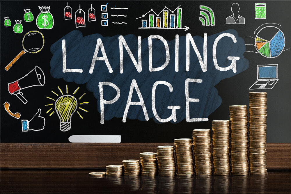 how to do a landing page